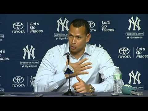 Alex Rodriguez on his 3,000th hit