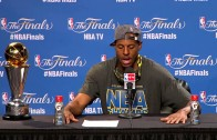 Andre Iguodala says he wasn't surprised he won Finals MVP Award