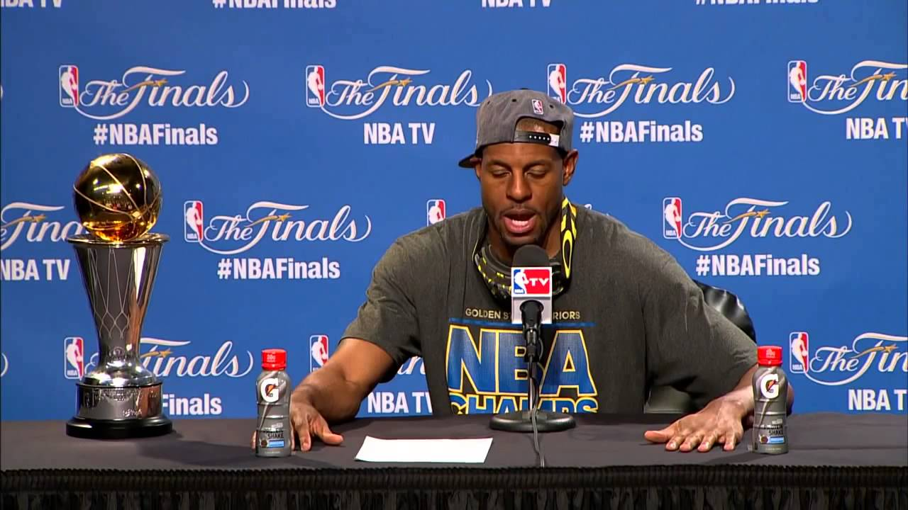 Andre Iguodala says he wasn't surprised he won Finals MVP Award