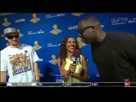 Draymond Green chirps the Cavs in interview and says