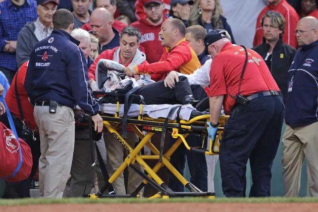 Horrible: Fan hit by broken bat at Fenway Park