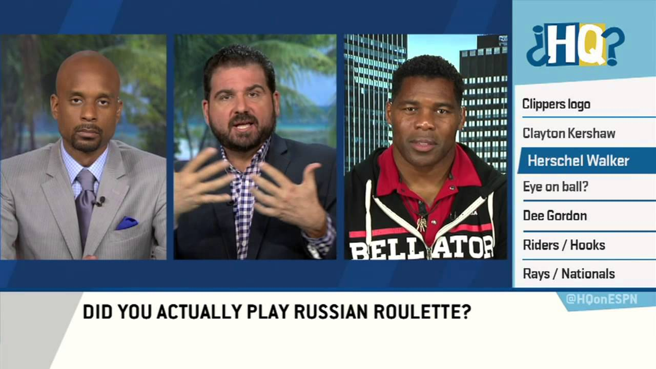 Herschel Walker talks about mental health and playing Russian Roulette