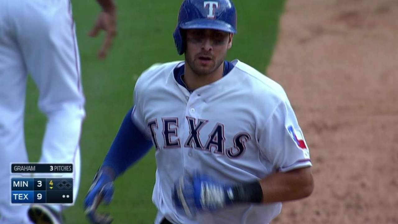 Joey Gallo absolutely parks a moonshot into upper porch