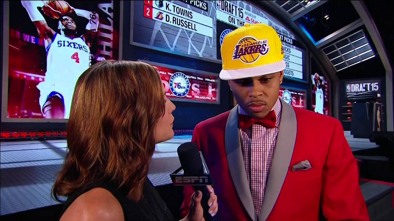 Lakers select D'Angelo Russell 2nd overall in 2015 NBA Draft