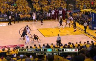 LeBron James & Steph Curry trade epic 3-pointers