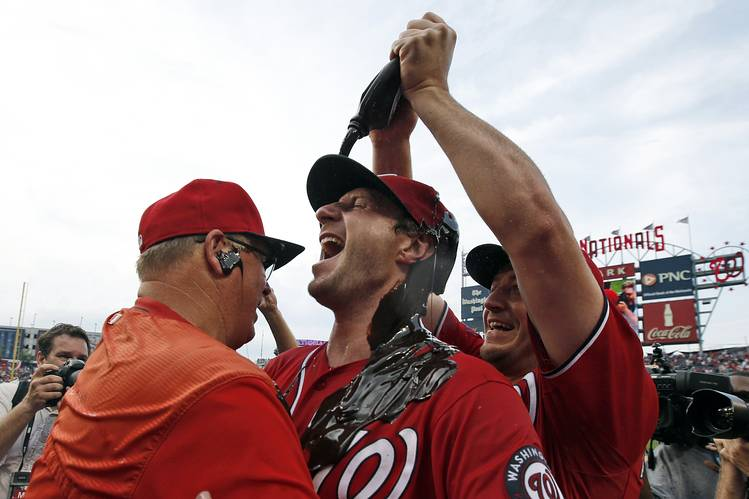 Max Scherzer loses perfect game with 2 outs in the 9th