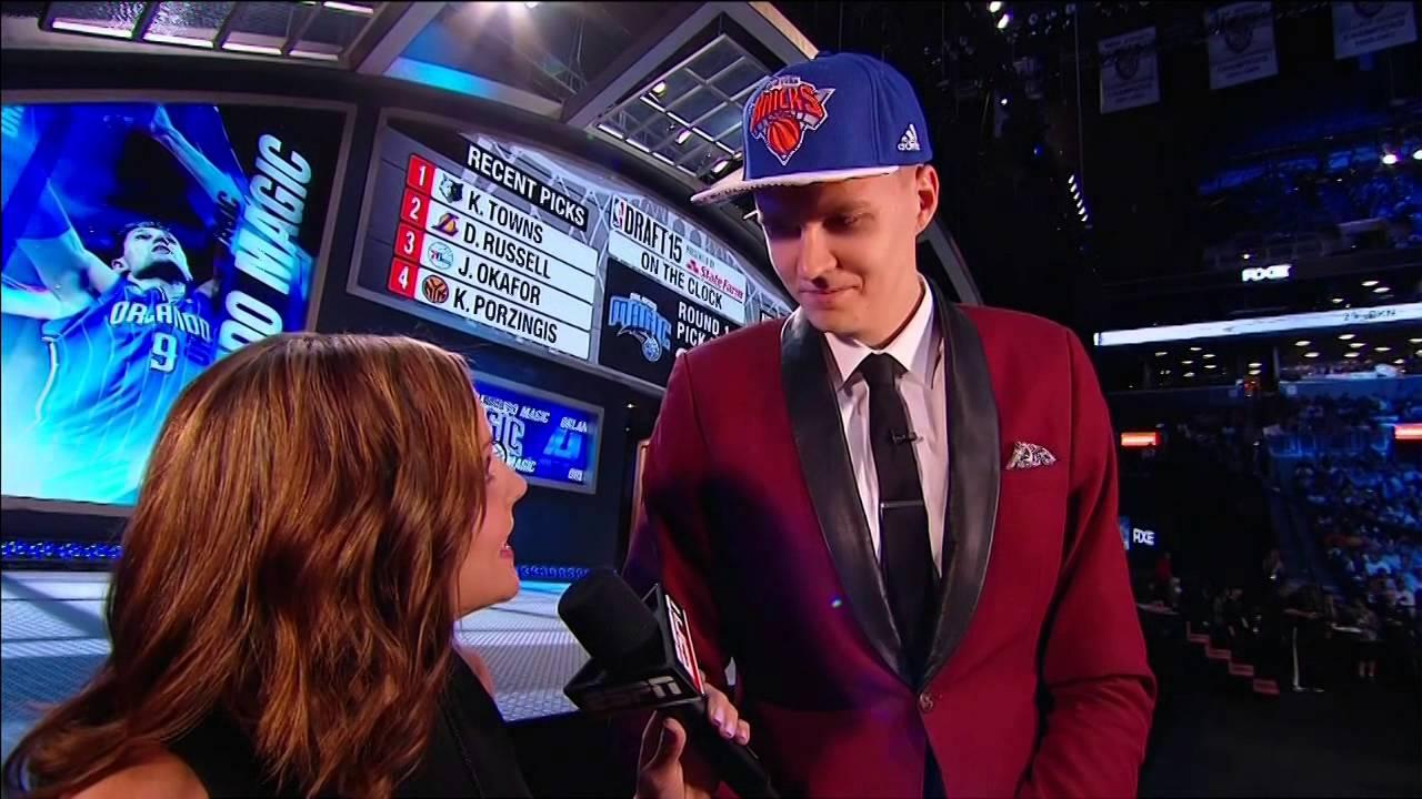 New York Knicks fans boo mercilessly at 4th overall pick Kristaps Porzingis