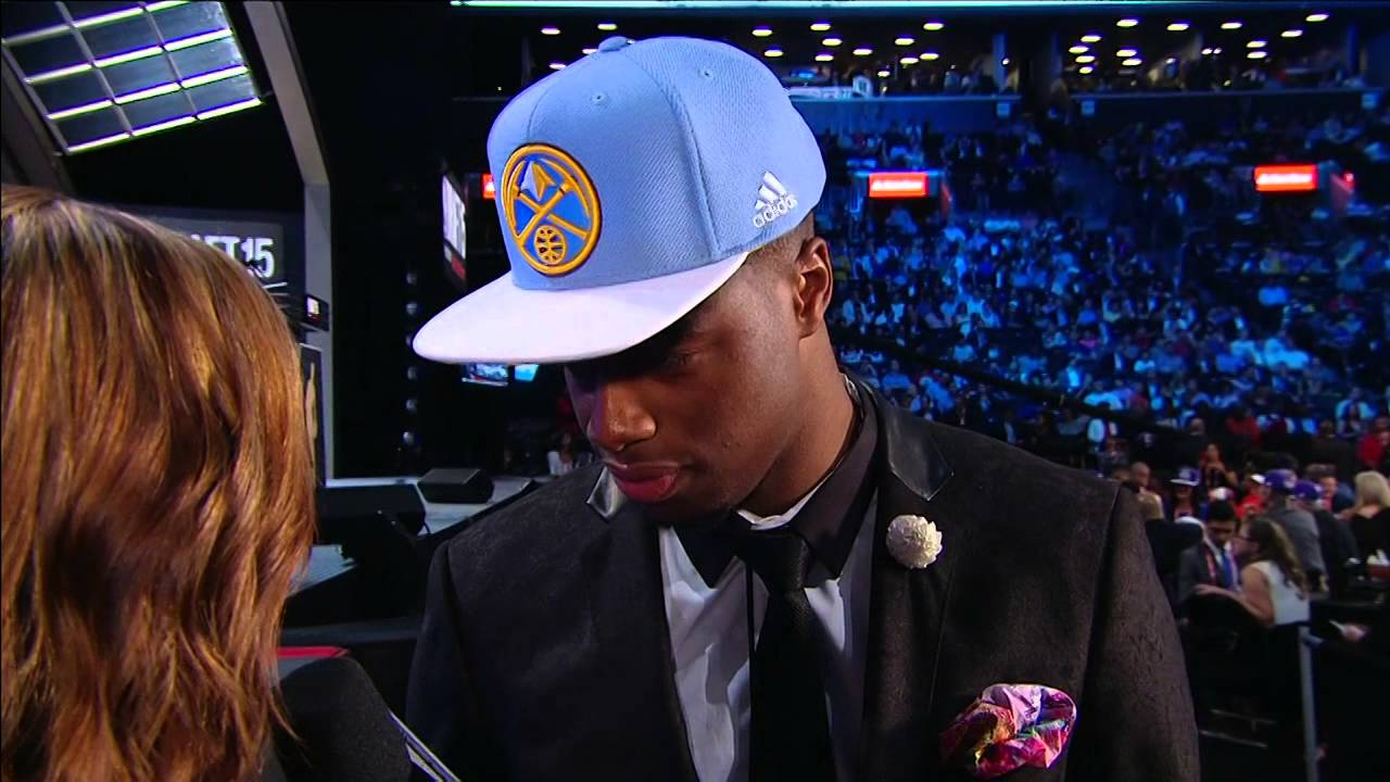 Nuggets select Emmanuel Mudiay 7th overall in 2015 NBA Draft
