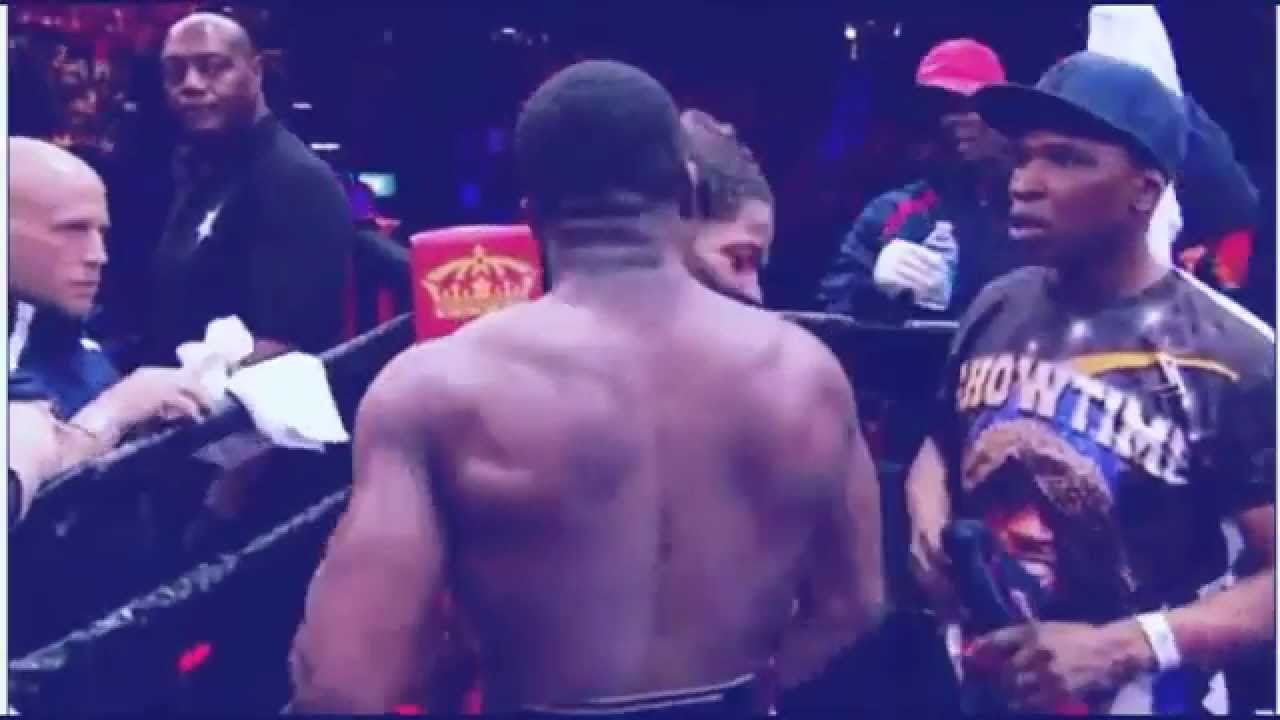 Shawn Porter's father refuses to shake Adrien Broner's hand