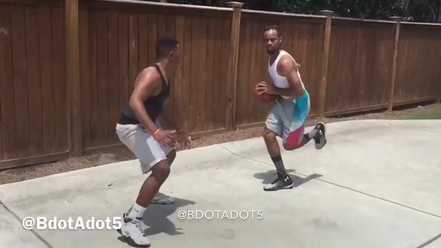 NBA impersonator Brandon Armstrong imitates James Harden