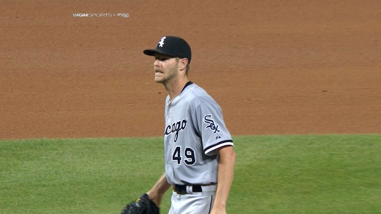 Chris Sale gets 10 strikeouts for eighth straight game