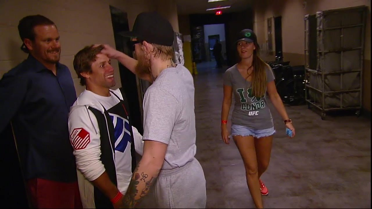 Conor McGregor & Urijah Faber have altercation before weigh-in