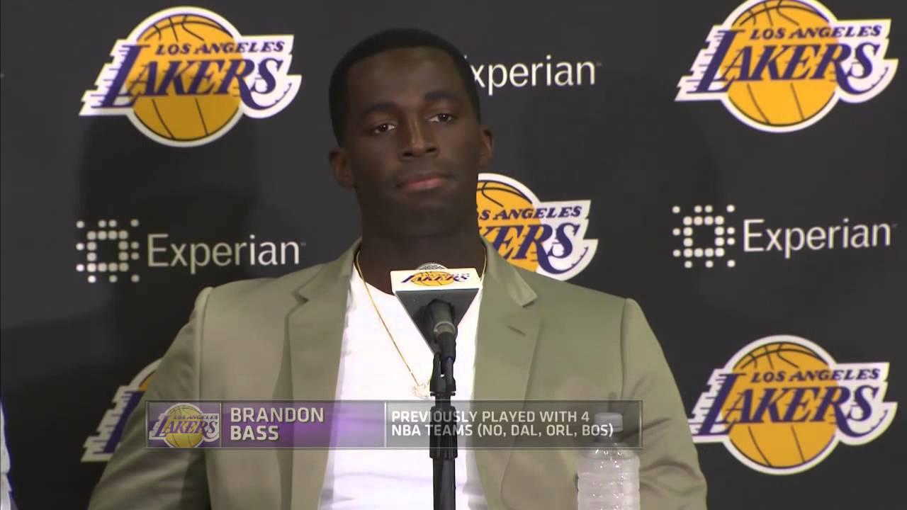 Awkward Silence: Lakers Roy Hibbert, Lou Williams & Brandon Bass haven't heard from Kobe