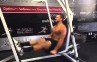 Beast Mode: Tim Tebow leg exercise before training camp