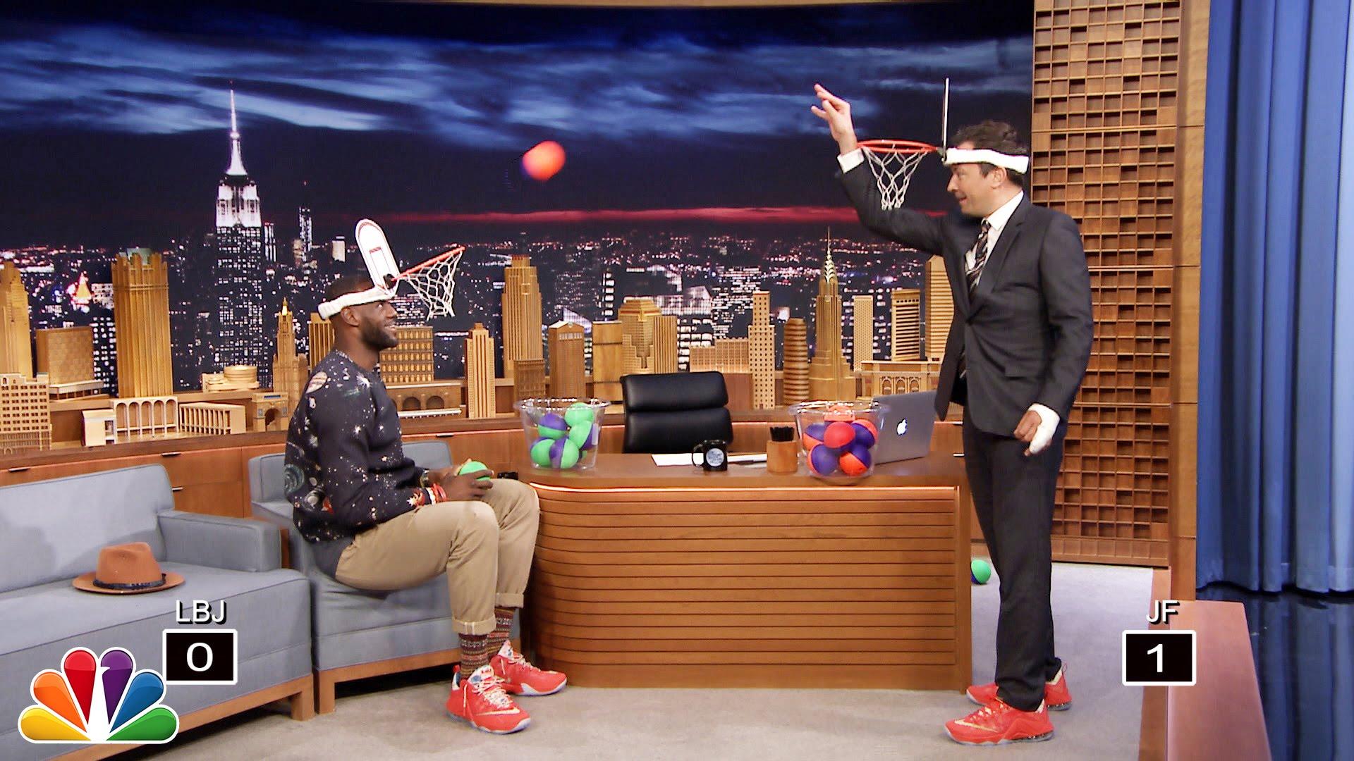 Jimmy Fallon & LeBron James play