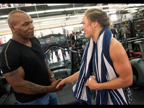 Mike Tyson has high praise for Ronda Rousey