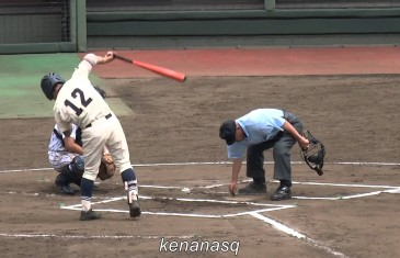 Must See: Japanese high school baseball player does dance movements while batting