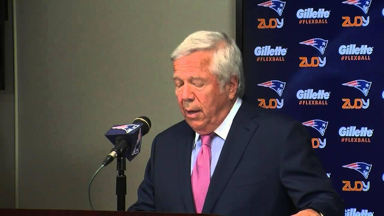 Patriots owner Robert Kraft blasts NFL for upholding Brady punishment