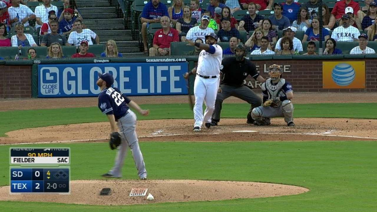 Prince Fielder crushes a mammoth solo homer to right