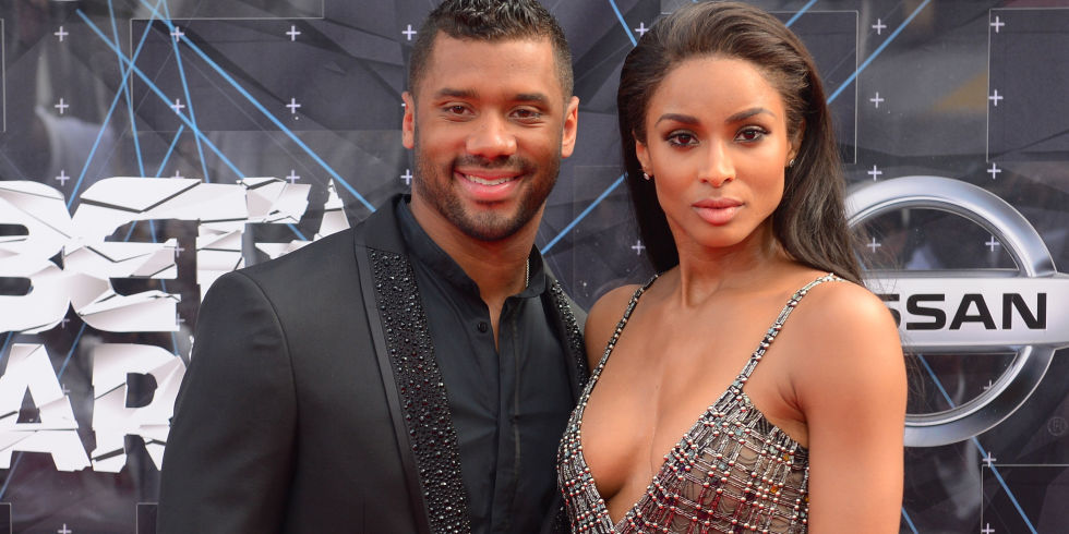 Russell Wilson says he is practicing abstinence with girlfriend Ciara