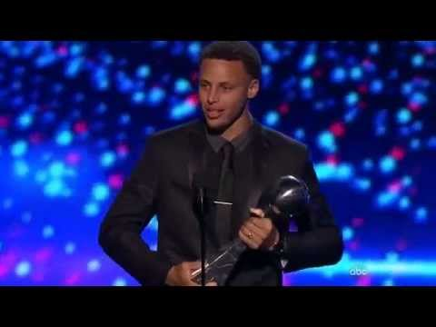 Stephen Curry wins Best Male Athlete at the 2015 ESPYS