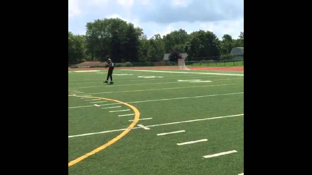 Terrelle Pryor displays his route running & catching