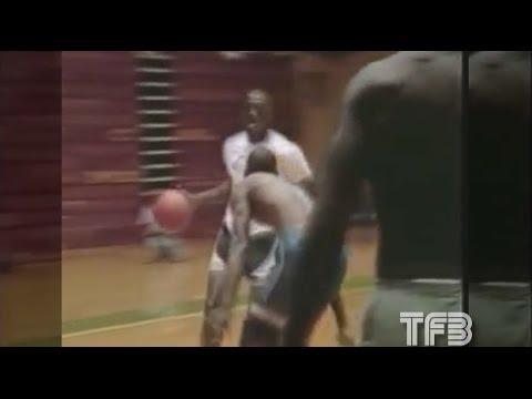 Throwback Footage: Michael Jordan playing pick up ball at North Carolina in 1986
