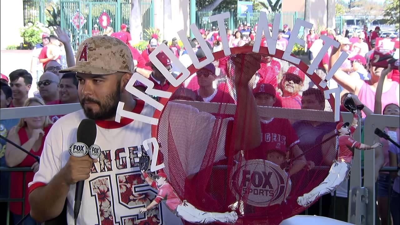'Trout Net' fan speaks on catching Mike Trout grand slam in his net