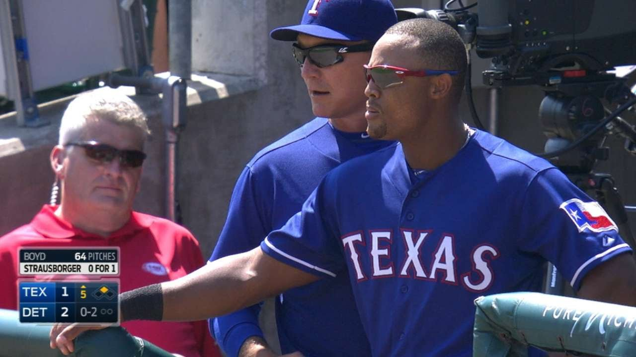 Adrian Beltre gets tossed for no reason?