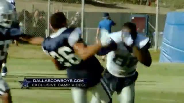 Dez Bryant & Tyler Patmon get into scuffle at training camp!