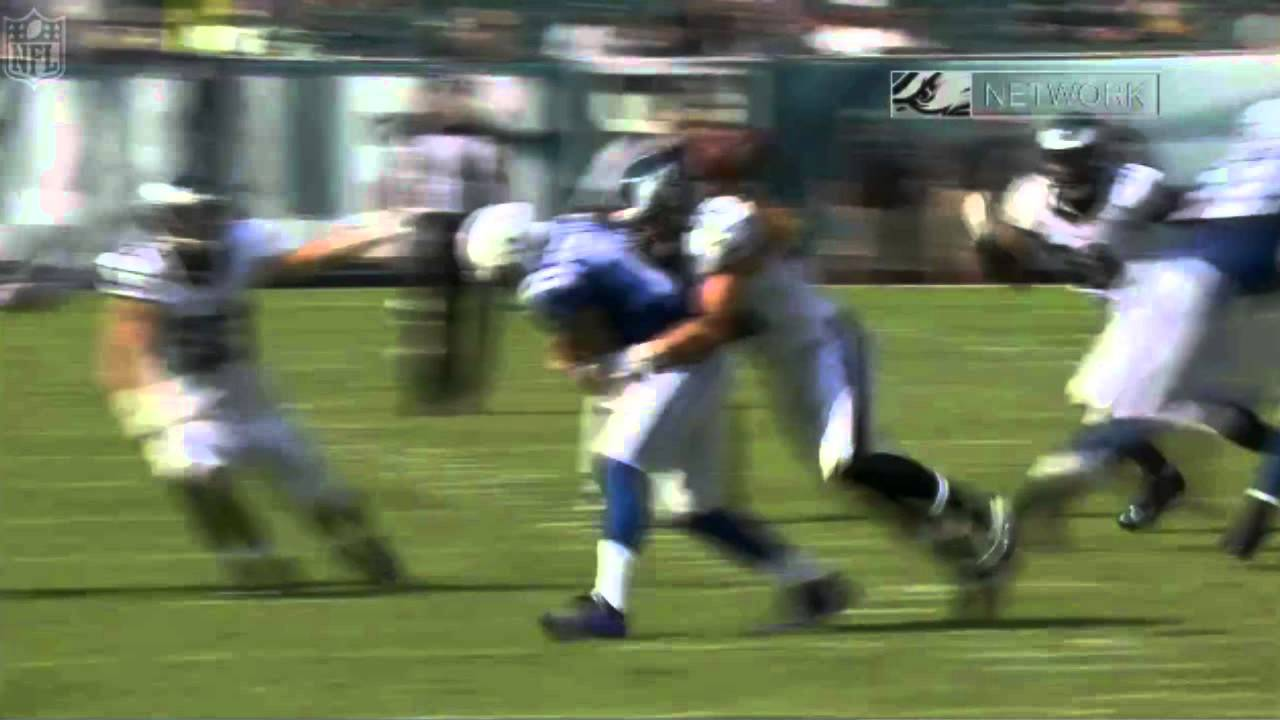Go Get It: Eagles 28 year old undrafted linebacker strips & suplexes QB