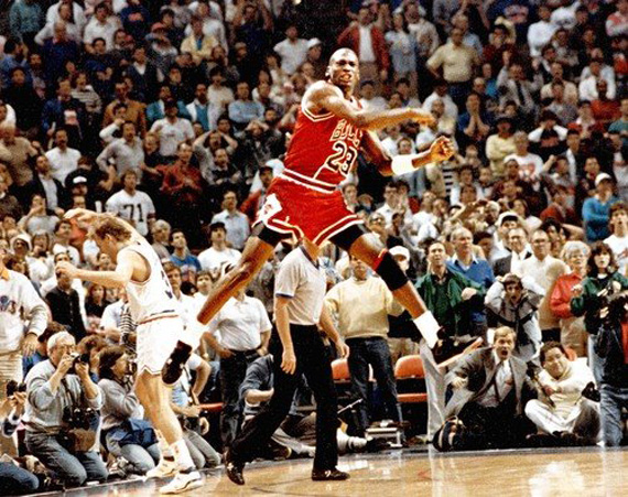 New angle of Michael Jordan's 1989 buzzer beater vs. Cleveland