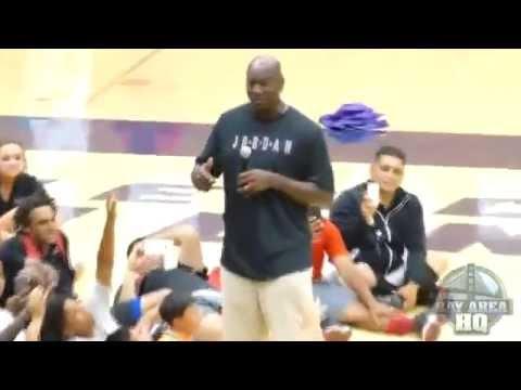 Michael Jordan says