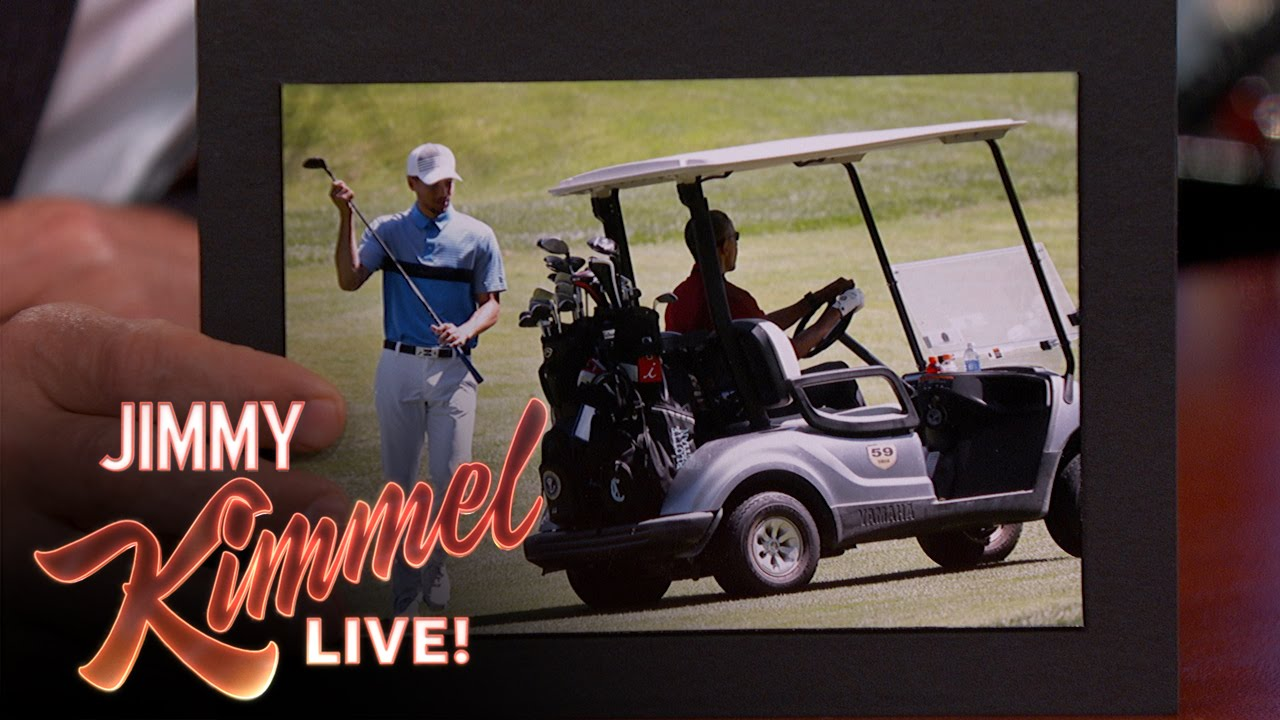 Steph Curry speaks on playing golf with President Obama