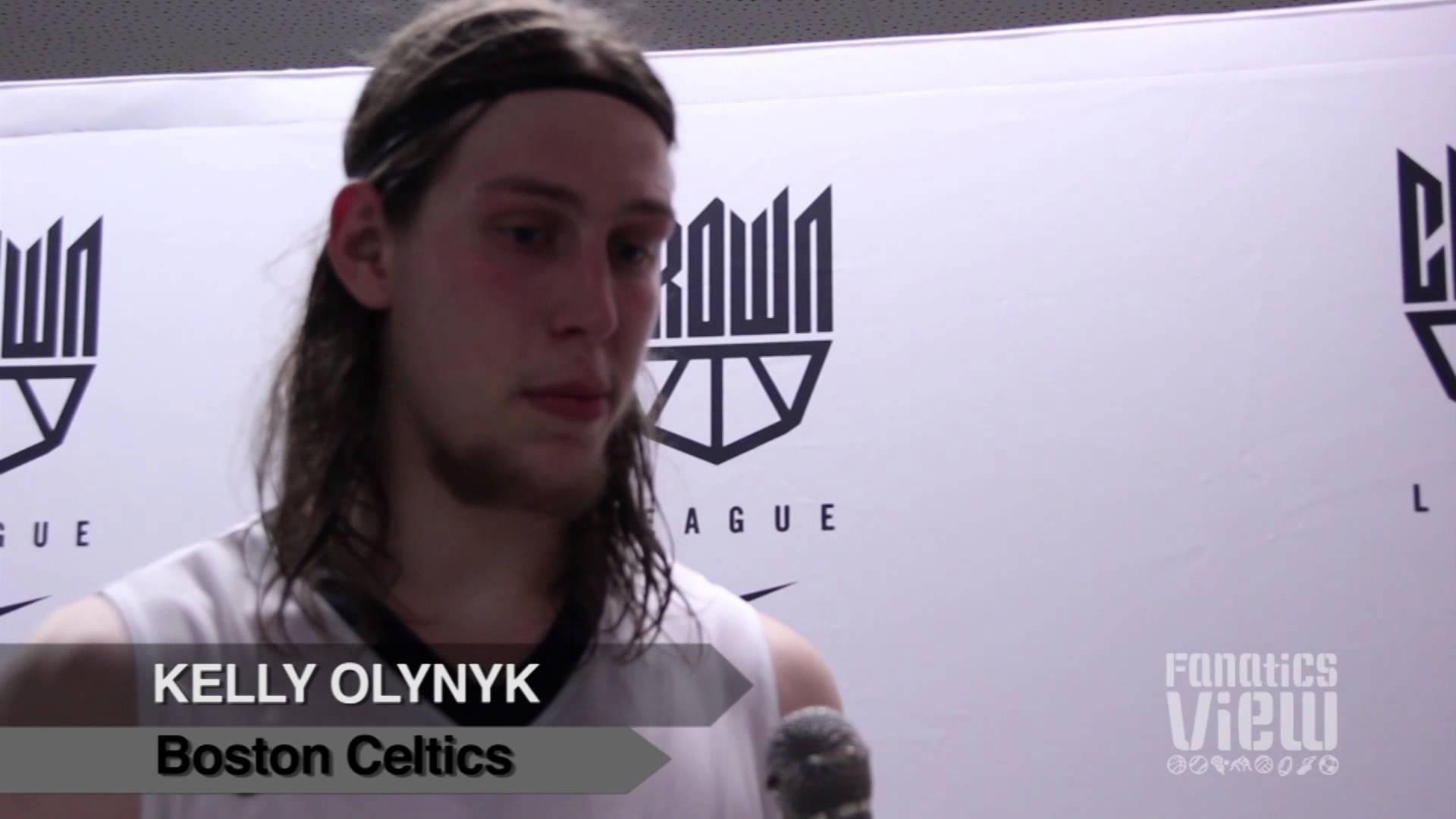 Kelly Olynyk exclusive feature with The Fanatics View