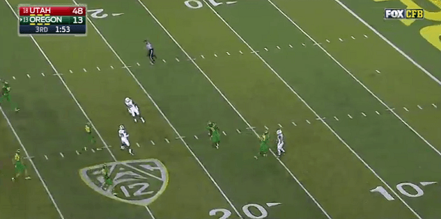 Utah uses fake fair catch on punt & fools everyone to score TD