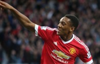 Anthony Martial scores debut goal for Manchester United