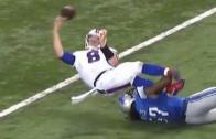 What In The Hell: Bills QB Matt Simms with an unforgivable fumble throw