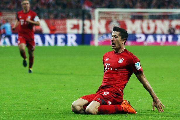 Robert Lewandowski scores 5 goals in just nine minutes