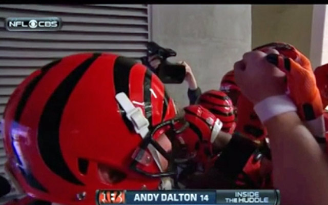 Andy Dalton with the worst pre-game speech of all time