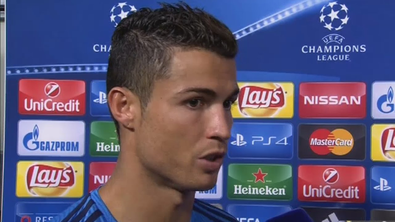 Cristiano Ronaldo post-match day one interview