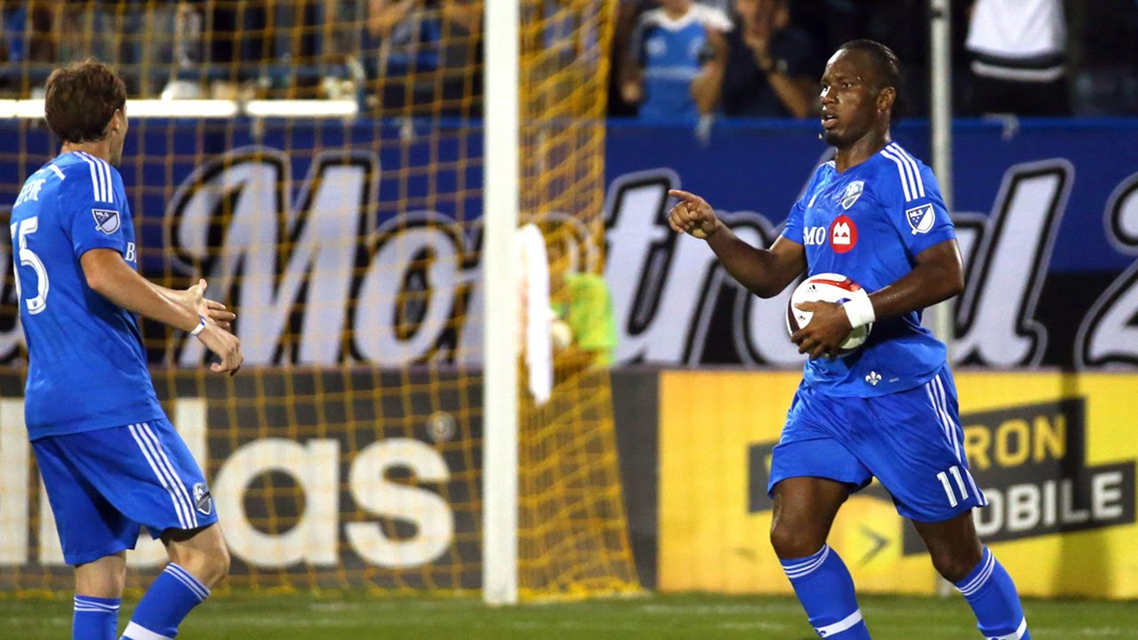 Didier Drogba's Hat Trick on his first Montreal Impact start