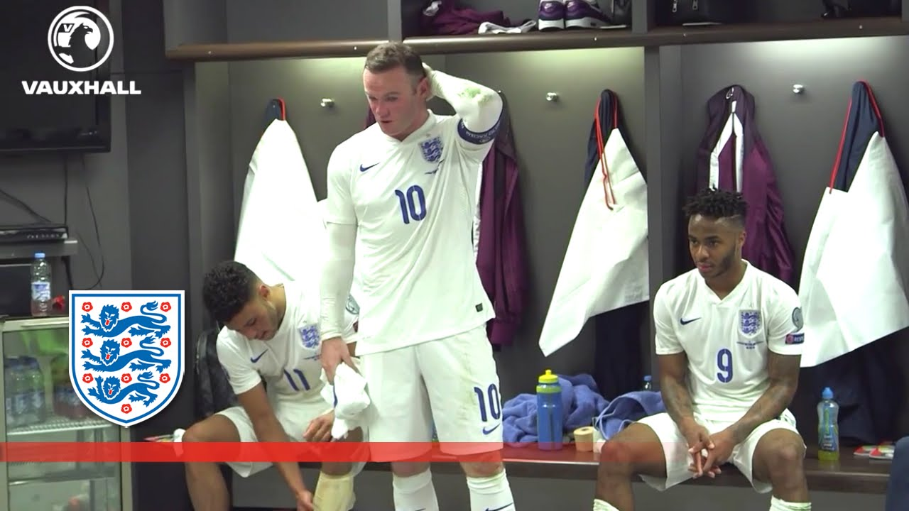 Emotional Wayne Rooney changing room speech after becoming England's all time top goalscorer