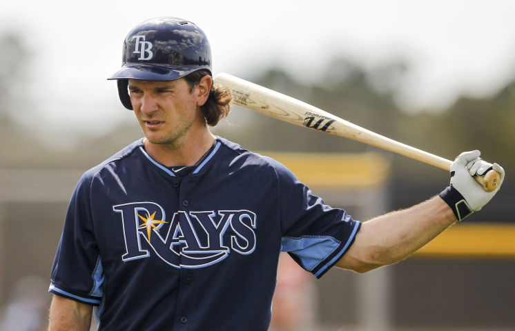 John Jaso hits a homer that flat out disappears at Tropicana Field