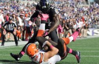Browns TE Gary Barnidge makes the catch of his life between his legs