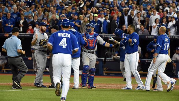 Benches clear in Toronto after Jose Bautista homer