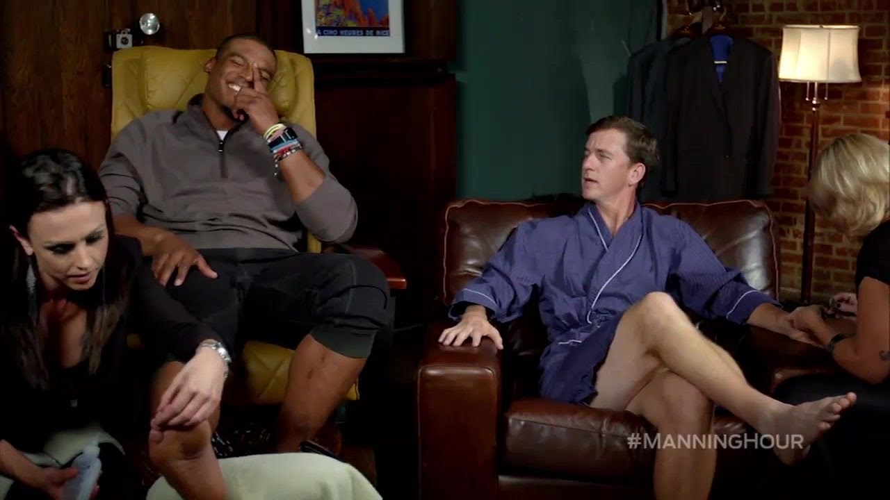 Cam Newton's hilarious trip to the spa with Cooper Manning