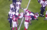 Chris Johnson escapes being down by contact & bursts for 62 yards