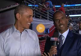 President Obama talks Chicago Bulls basketball