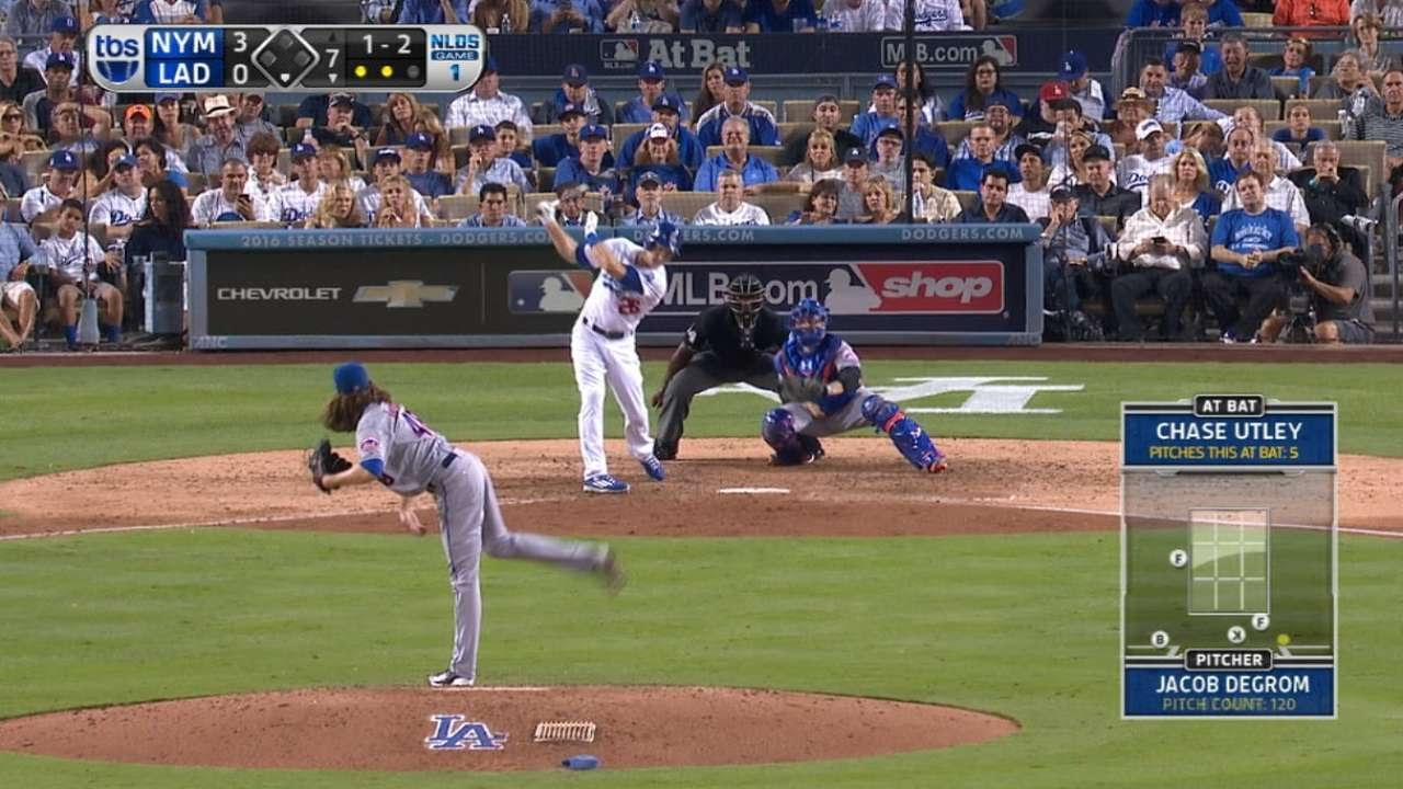 Jacob deGrom pitches a 13 strikeout gem for the Mets
